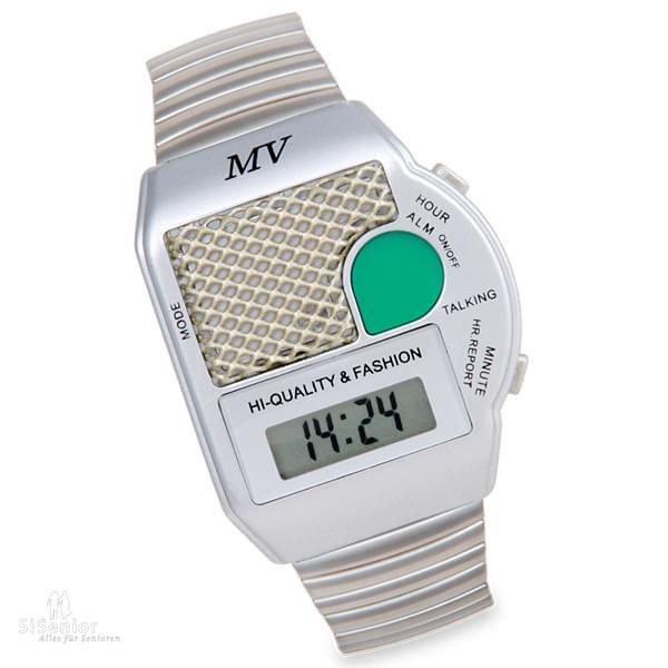 sprechende armbanduhr test