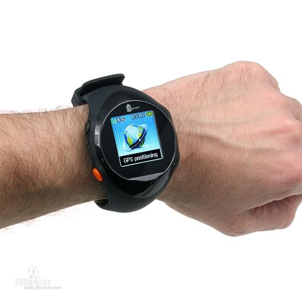 seniorenhandys armbanduhr mit handyfunktion und sos taste gps notruf uhr. Black Bedroom Furniture Sets. Home Design Ideas