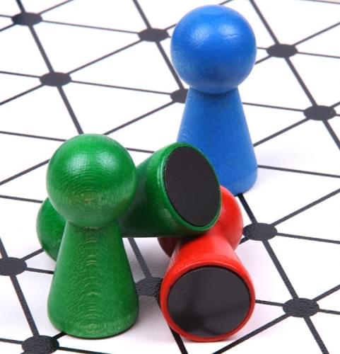 halma magnetisch 50 x 50 cm extra grosse brettspiele magnetspiele w rfelspiele. Black Bedroom Furniture Sets. Home Design Ideas